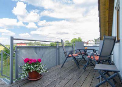 Ferienwohnung 2 Balkon